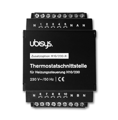 Thermostat interface for H10 (additional option H10/24-XI or H10/230-XI)
